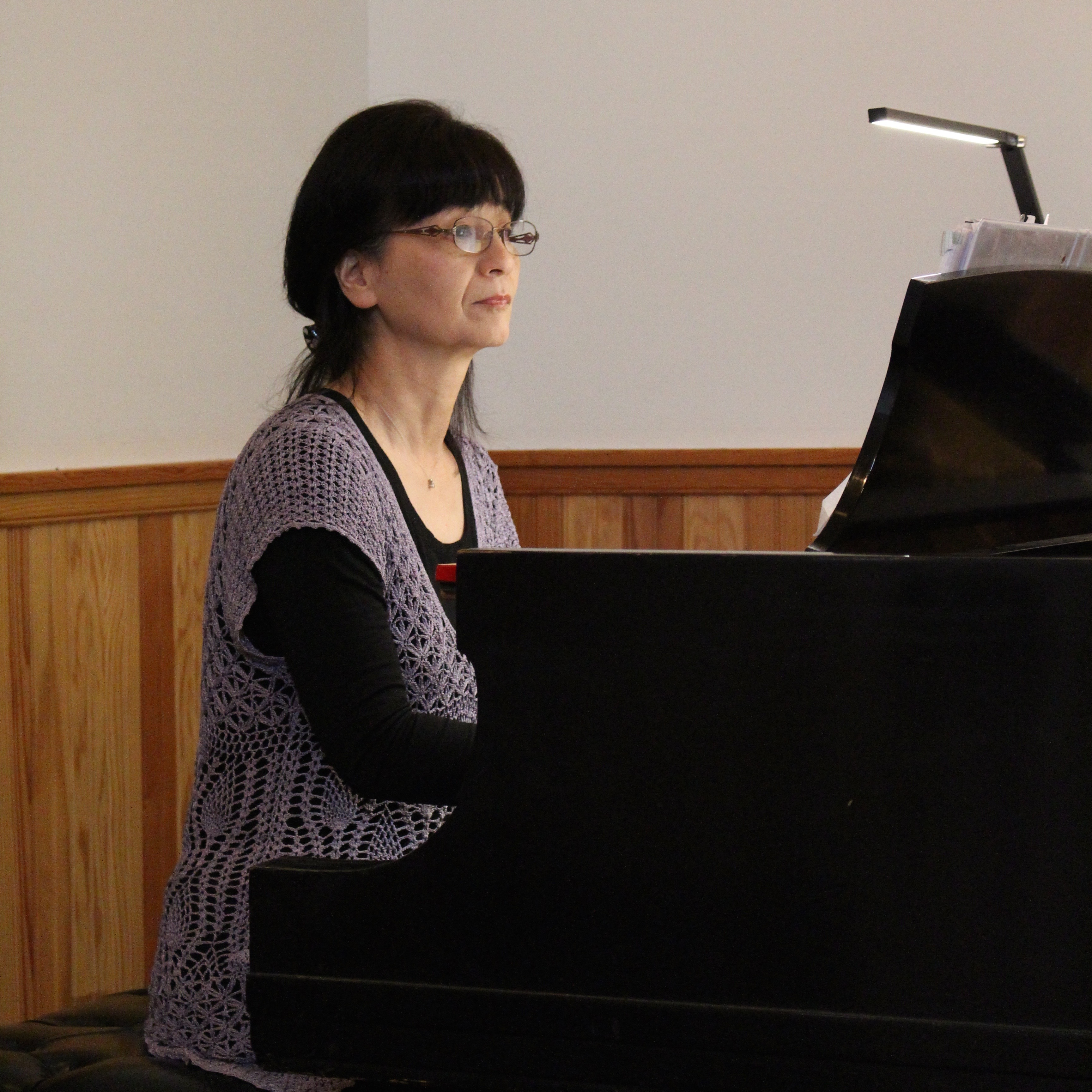 Ikue Goldstein at the Piano